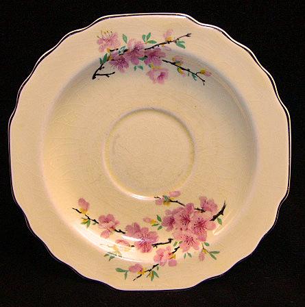 Floral silver saucer1