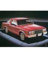 1982 Ford Fairmont Futura Brochure - $10.00