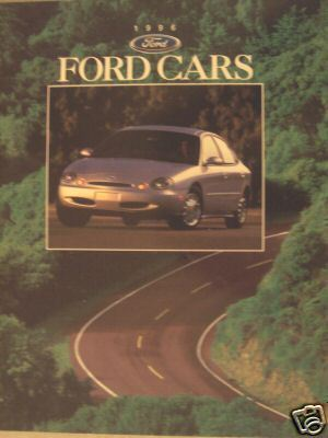 Primary image for 1996 Ford Cars Full Line Brochure - Mustang, Crown Victoria, Thunderbird & More