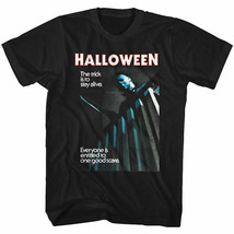 Halloween Horror Movie Everyone Is Entitled To One Good Scare Men's T Shirt - $20.29+