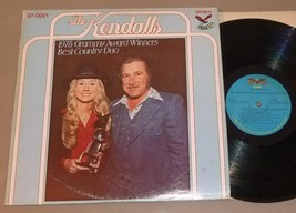 Kendalls LP 1978 Grammy Award Winners Best Country Duo - Gusto GT-0001 - $8.75