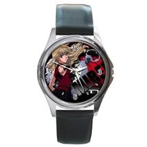 New Hot Noir Mireille Gun Manga Anime Leather Watch wristwatch Gift - $10.80