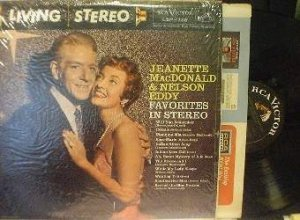 Jeanette MacDonald and Nelson Eddy - Favorites in Stereo - R