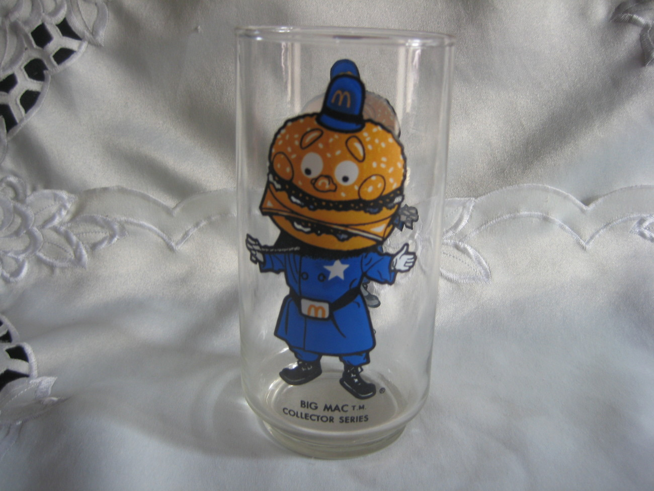 Big Mac Collectors series glass