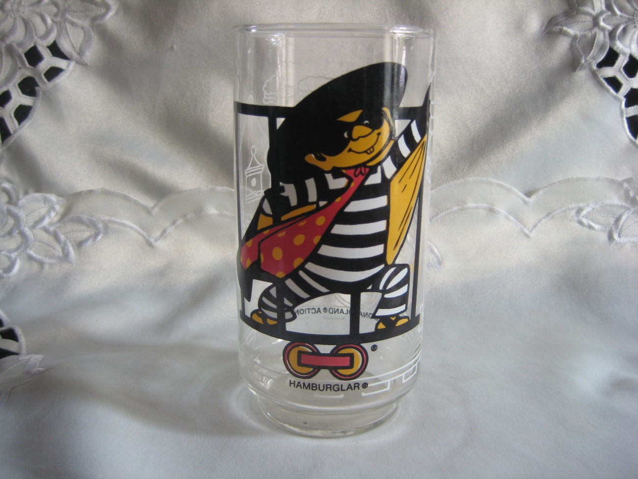 Hamburglar Collectible Glass