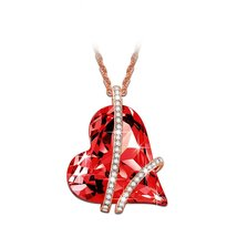 """♥Valentine's Day Gift♥ LadyColour """"Sweet Heart"""" Pink or Red Heart Pendan... - $69.95"""