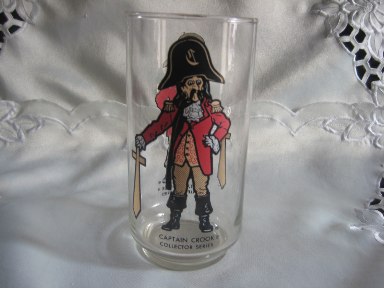 Captain Crook Collectible Drinking Glass