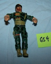 Vintage Lanard The Corp Military Action Figure-Lot G4-3 3/4 inches tall - $6.35