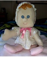 HANDCRAFTED cloth DOLL fabric stuffed toy handmade pattern Eloise - $25.00