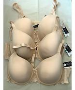 NWT Full Figure T-Shirt Bra-Underwire-Full Coverage-42DDD-44DDD-42DD Sol... - $19.99