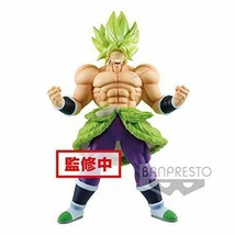 Banpresto Figure Dragon Ball super SS Broly full power Chokoku-Buyuden J... - $48.29