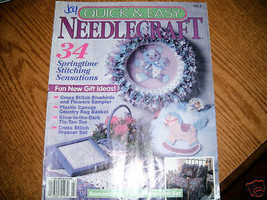 Quick & Easy Needlecraft 1993 Issue No 6 - $3.00