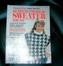 Womans Day 101 Needlework & Sweater Ideas March 1984 - $4.00