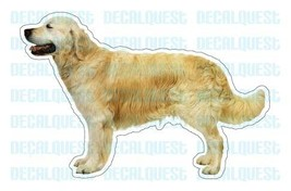 GOLDEN RETRIEVER-Dog Decal-sticker car got window - $4.89