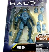"Mattel HALO Crawler Snipe Fred-104 6"" Action Figure DYG71 DNT98 Build a ... - $22.79"
