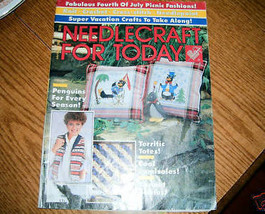 Needlecraft For Today July August 1986 Issue - $3.50