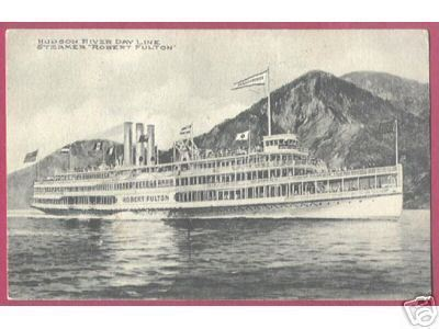 Primary image for HUDSON RIVER DAY LINE STEAMER ROBERT FULTON SHIP