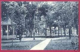 Oneida New York Ny Park Walk Bench Gazebo Vintage - $8.00