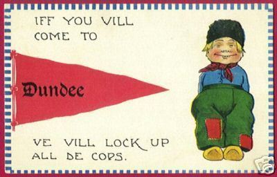DUNDEE Pennant PC Dutch Boy 1913