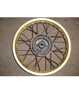 Suzuki RM80 '83-'85 rear wheel, 14x1.60 gold - $30.00