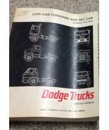 1967 DODGE TRUCK Low Cab Forward & Tilt Cab Models 500 1000 Service Shop... - $69.25