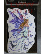 1 Licensed Nene Thomas Butterfly Fairy Art Sticker - $4.29