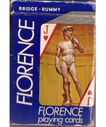 Playing Cards from Florence Italy - $5.00