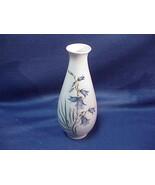 Royal Copenhagen Denmark Signed Vase with Blue Bells 2F 2918/4055 - $19.79