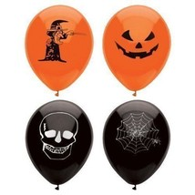 15 Assorted Halloween Balloons / 23cm / Halloween Trick Or Treat Scary P... - ₨121.21 INR