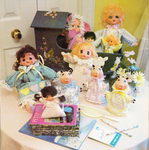 DOLL MAKING APPLE DUMPLINS' DOLLS, DOLLS, DOLLS CLOTHING CLOWNS ANGEL PI... - $5.50