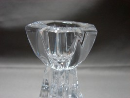 Mikasa Linear Candleholders Pair Crystal 3.5 inches tall image 3