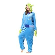 Adults' Kigurumi Pajamas Piggy / Pig Onesie Pajamas Flannel Toison Blue ... - $3.99+
