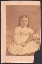 May Florence Onderdonk Cabinet Photo of Young Girl ca. 1880s New York City - $19.75