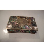Handmade Silver-plate and Abalone Trinket or Small Box - $39.99