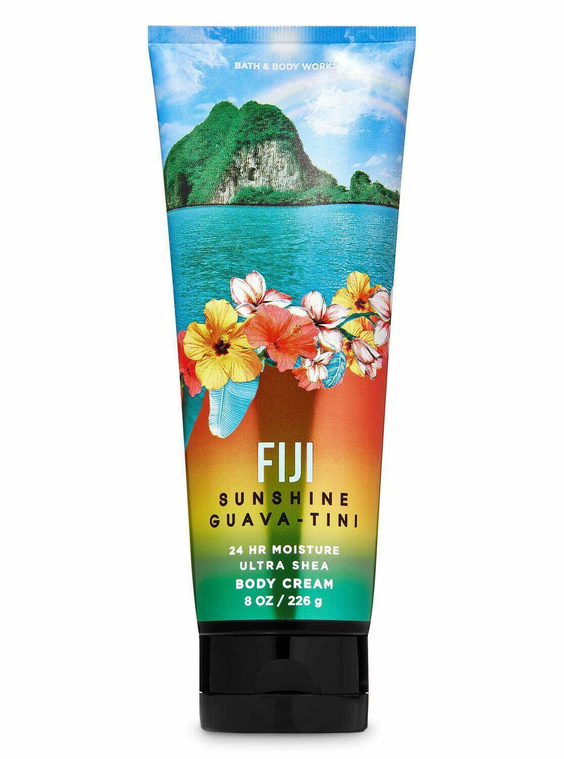 Primary image for Bath And Body Works Ultra Shea FIJI SUNSHINE GUAVA TINI Body Cream Discontinued