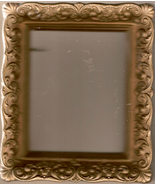 Vintage 60s Ornate Picture Frame - $12.00