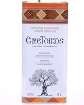GRETOIKOS Extra virgin olive oil Koroneiki variety 5Lt distinctive bitte... - $97.70