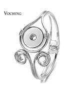 10pcs/lot New Vocheng Gingersnaps Bracelet Alloy Bangle fit 18mm Snap Ch... - $66.05