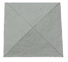 "NextStone Sandstone Column Wrap Cap 18"" x 18"" Graphite - $46.45"