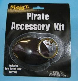 Wholesale Lot Spirit Pirate Accessory Eye Patch Earring
