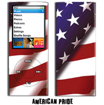 Skin Decal for Apple iPod Nano 4G American Pride - $4.88