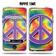 Vinyl Skin Decal for Apple iPod Touch - Hippie Time - $4.88