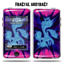 Vinyl Skin Decal for Apple iPod Touch  Fractal ... - $4.88