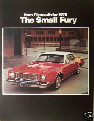 Primary image for 1975 Plymouth Fury Brochure