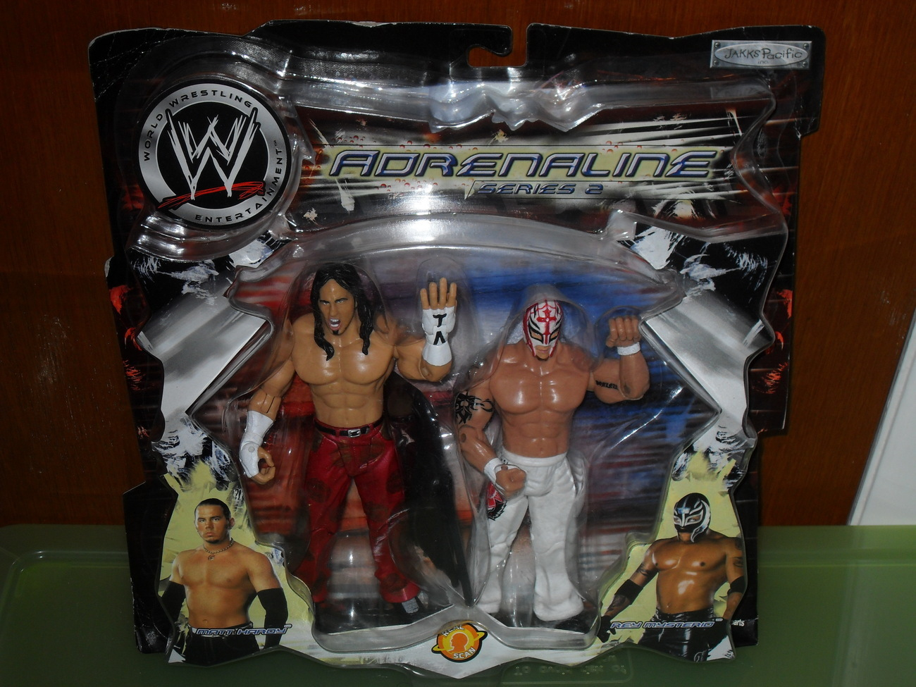 2003 WWE Adrenaline Series 2 Matt Hardy and Rey Mysterio 2 Pack