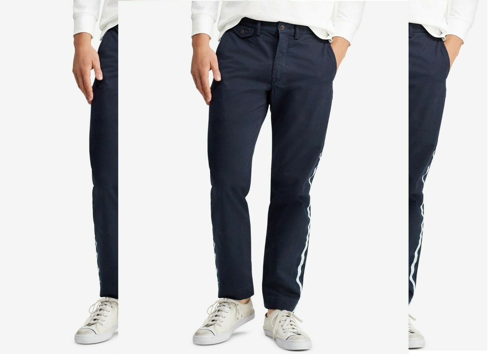 Polo Ralph Lauren Men's Stretch Straight Fit Bedford Chino Pants, Size 36X30, MS - $44.40