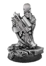 28mm Sci-Fi Miniatures: Servant - Gun