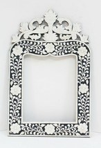 Picture Frames Mirror Camel Bone Inlay Work Wood Embossed Wall Decor Vin... - $4.697,42 MXN