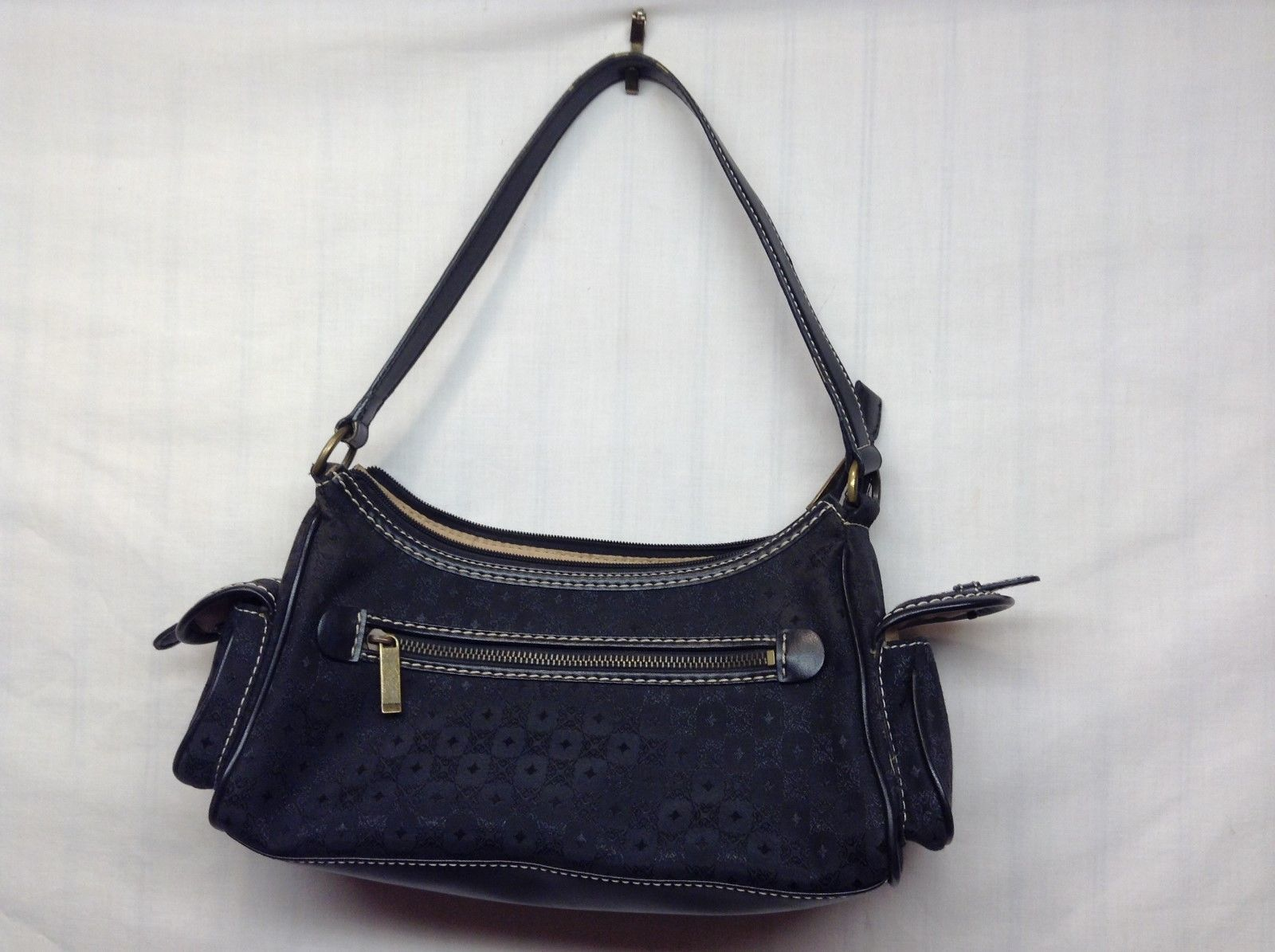 NEW Villager/Liz Claiborne Black Handbag