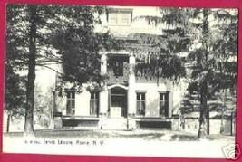 ROME NEW YORK NY Jervis Library UDB Rotograph 1909 - $7.50